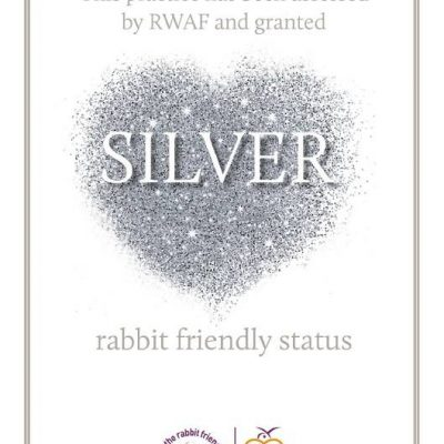 Rabbit Friendly Practice Award 2018