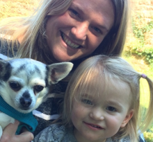 Meet our vets and their pets – Daisy
